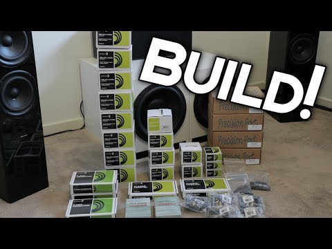 NEW SPEAKERS - AUDIO BUILD!