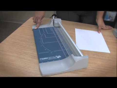 Dahle 507 Rolling Trimmer Paper Cutter