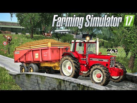 TRANSPORT DE FUMIER SUR UNE MAGNIFIQUE MAP ! (Farming Simulator 17)