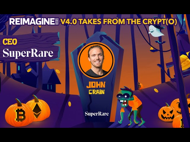 John Crain - SuperRare $SUPR - Creating Value for Future Artists