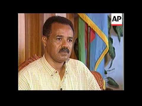 ERITREA: PRESIDENT AFEWERKI