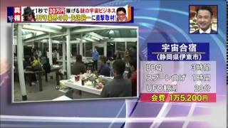 マネースクープ 宇宙ビジネス UFO映像 12月22日 有森也実 検索動画 30