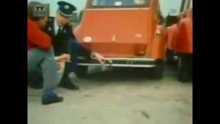 Wrak van de weg - de Eend 12-10-1985