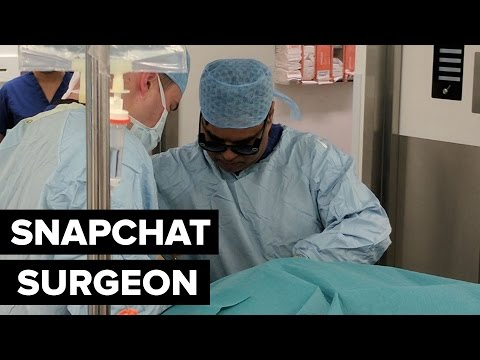 Snapchat Spectacles used to teach surgery