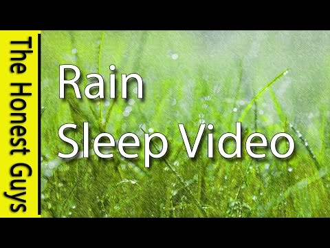 FALL ASLEEP IN UNDER 30 MINUTES. Guided Sleep RAIN NATURE SOUNDS. Insomnia