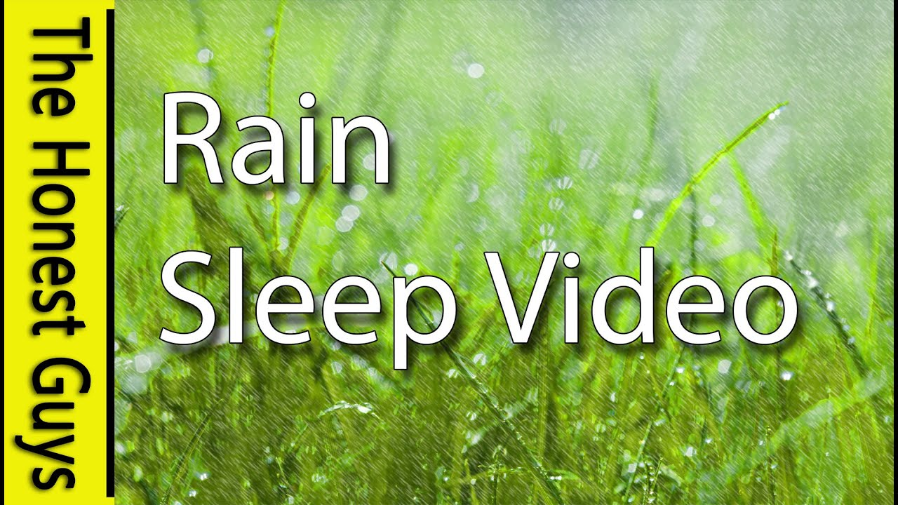 Fall Asleep In Under 30 Minutes Guided Sleep Rain Nature Sounds Insomnia
