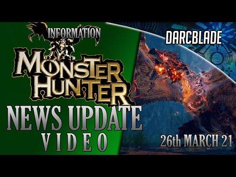 Rise Releases, Kulve Returns & More : MONSTER HUNTER NEWS : 26th MARCH 2021