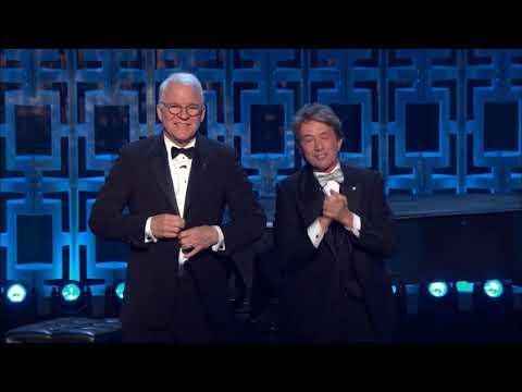 Martin Short and Steve Martin  David Letterman Mark Twain Award