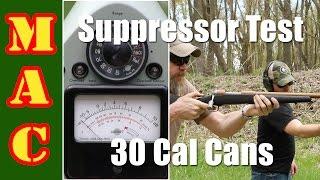 testing 30 caliber suppressors