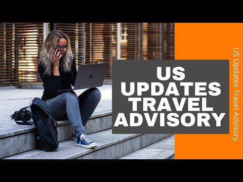 Us Updates Travel Advisory  Travel & Events