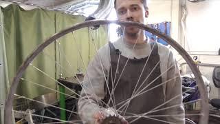 Как поправить мятый и гнутый обод велосипеда