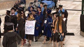 WATCH: Notre Dame students walk out of commencement as VP Pence begins to speak