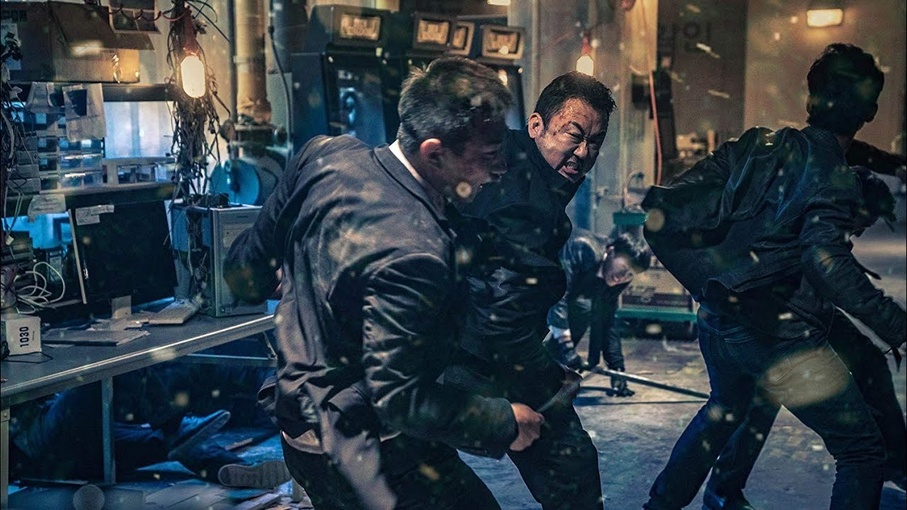 Download The Gangster, The Cop, The Devil (2019) | Warehouse Fight Scene | 720p |