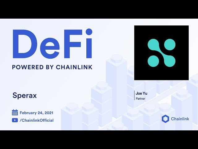 Sperax and Chainlink Live Q&A: Using Chainlink VRF for a fair distribution of airdrops