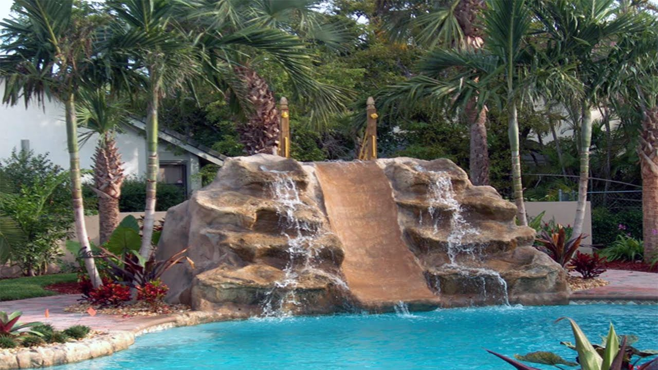 Best Small Pool Waterfall Design Ideas Remodel Youtube