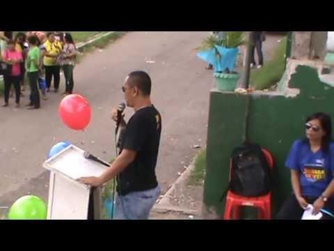 Brigada Eskwela 2013: Tungkop NHS Principal Daniel Demetrio Gives the Closing Remarks
