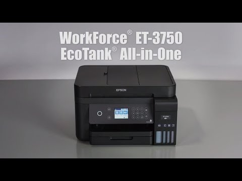 Explore the Epson WorkForce ET-3750 EcoTank All-in-One Super