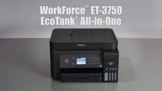 Epson WorkForce ET-3750 | Take the Tour