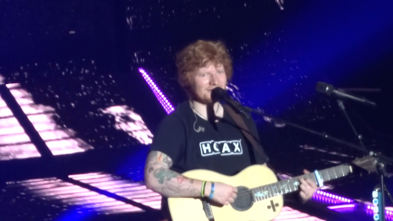 Ed sheeran dive live in san diego 8 6 17 youtube - Dive ed sheeran ...