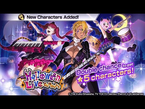 Bleach Brave Souls: Halloween Summons Gameplay!!! Halibel, Riruka e Yachiru - Omega Play