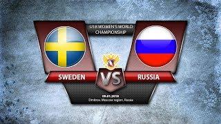 WW U18. Sweden-Russia