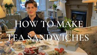 How to make Tea Sandwiches - Plus my recipe for a Classic Victoria Sponge Cake