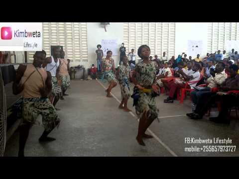 Tanzania Cultural Dance (Ngoma ya kitamaduni) Performed during restless development career fair