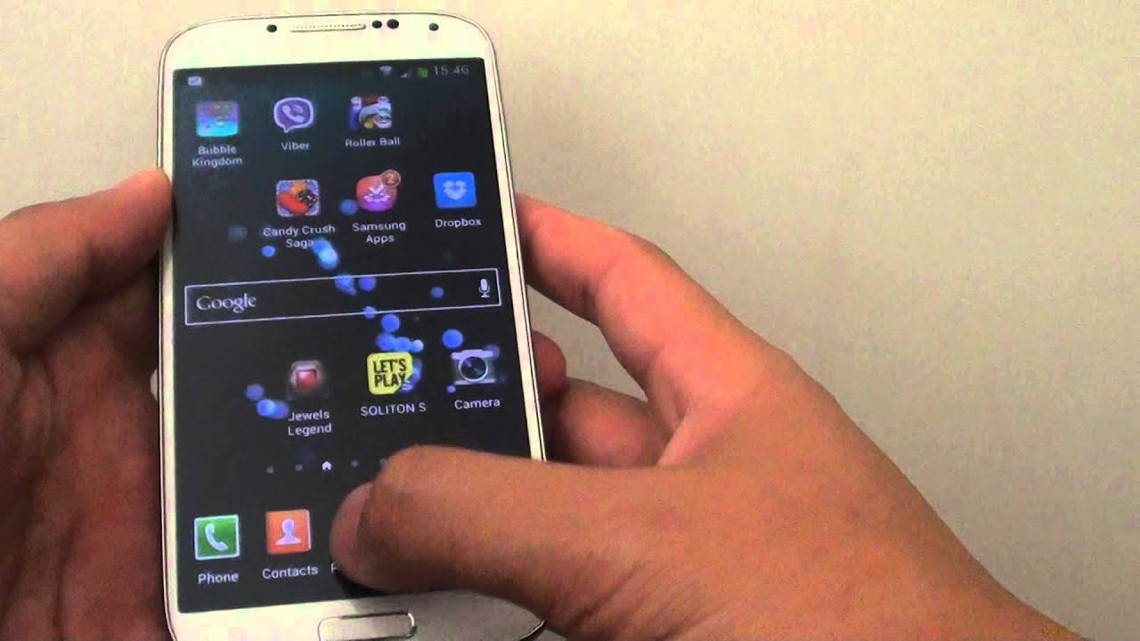 Samsung Galaxy S4: How To Add/Remove Apps Icon From Home