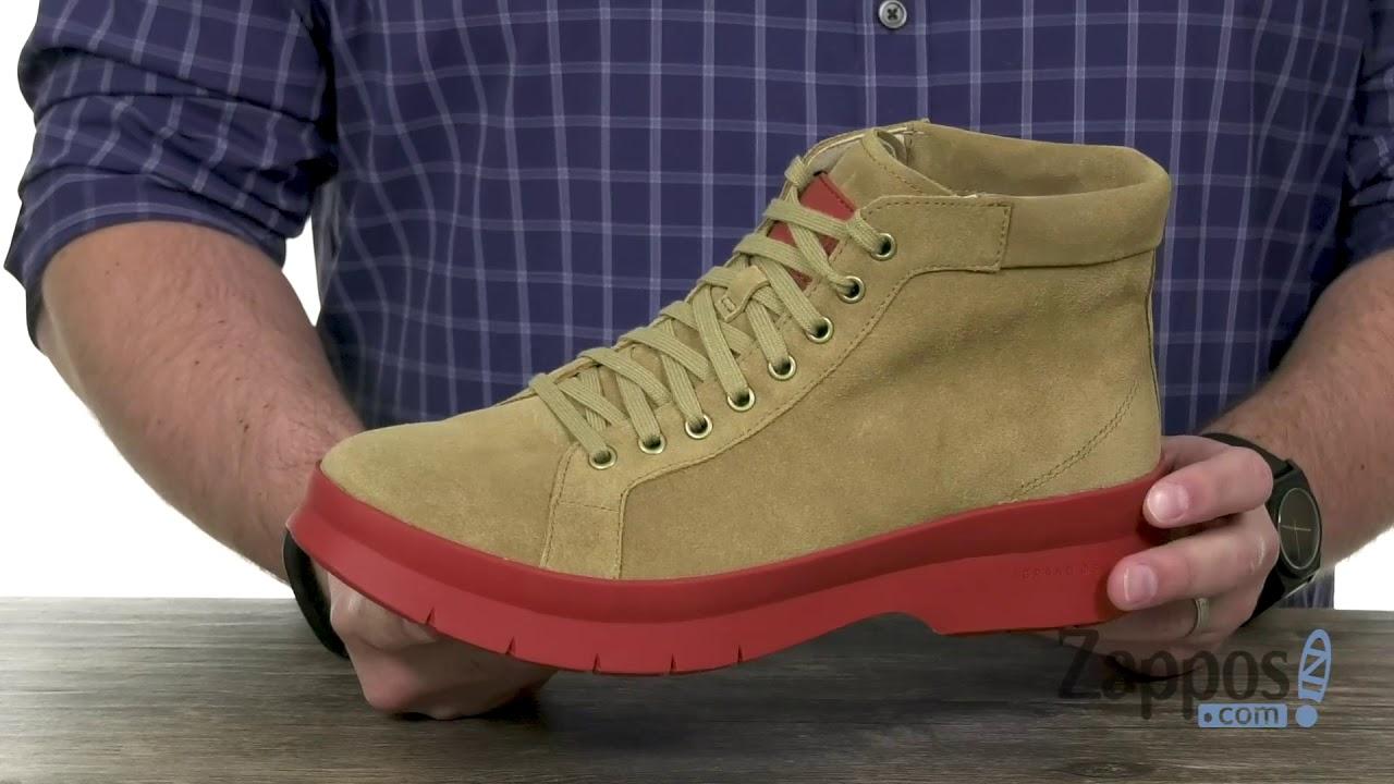 caff0e7f5ab Cole Haan Pinch Utility Chukka Boot Waterproof SKU  9159077 - YouTube
