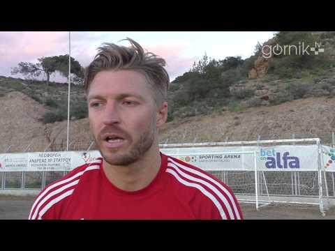 Szymon Matuszek o meczu sparingowym z FK Cukarićki (U-21)