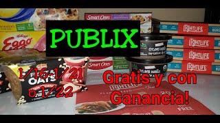 COMPRA EN PUBLIX 1/16-1/21 o 1/22|Gratis y con ganancia|Randee Saves