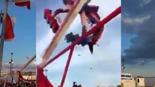 Ohio State Fair Roller Coaster Accident 2017
