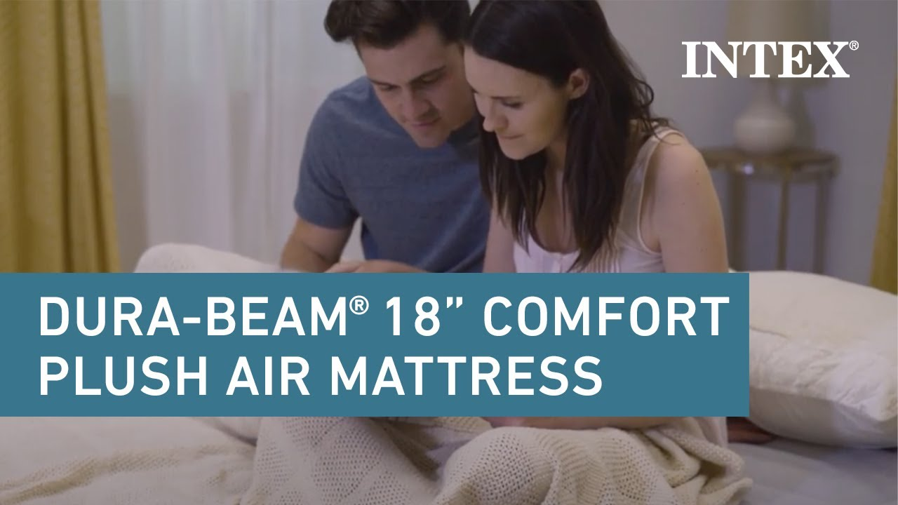 Intex 18 Dura Beam Plus Comfort Plush Airbed