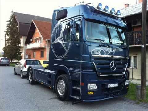 mb actros blue star making of tuning youtube. Black Bedroom Furniture Sets. Home Design Ideas