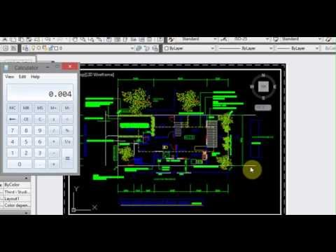 How to Scale AutoCAD viewports to any custom scale - YouTube