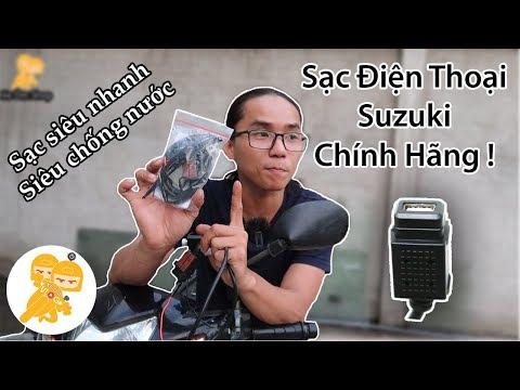 Hướng Dẫn Lắp SẠC ĐIỆN THOẠI CHÍNH HÃNG SUZUKI Cho Xe Honda Tại Xe Ôm Shop