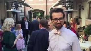 Полароид на свадьбе 15 шортик   ведущий Никита Райков