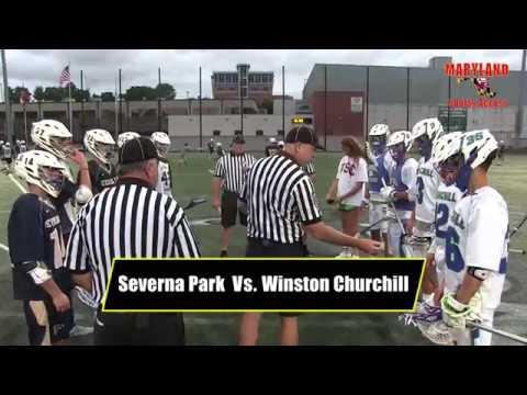 Severna Park Vs. Winston Churchill 4A/3A Lacrosse State Championship: Maryland Sports Access