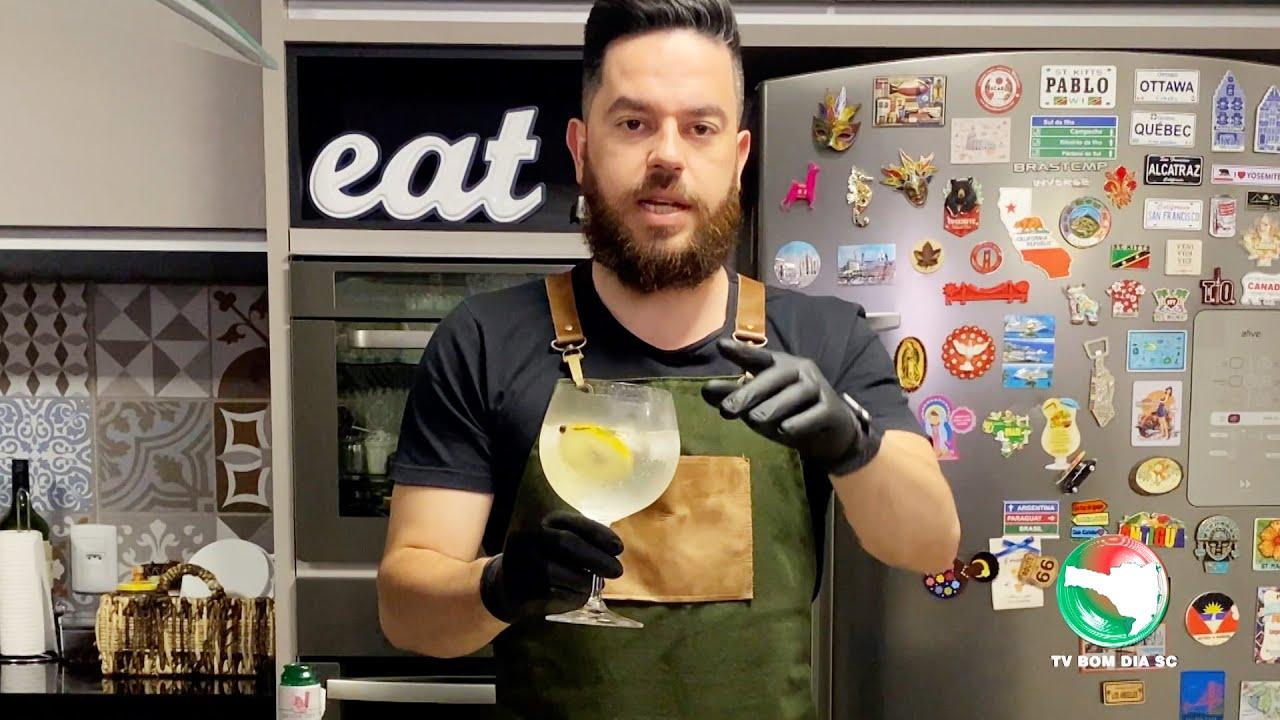 Drink: Gin e Tônica - Pablo Calluans na Cozinha