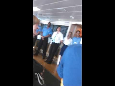 St.Helena boat staff