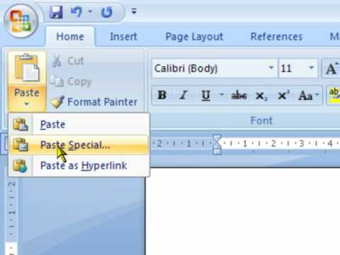 Exporting Excel Data to a Word Document