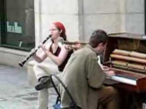 Barcelona Street Musicians Dixieland Jazz