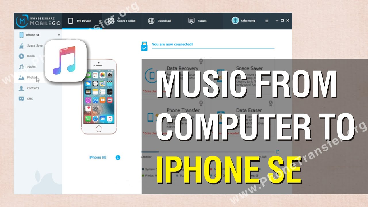 copy music from iphone to computer how to transfer from computer to iphone se easily 2974