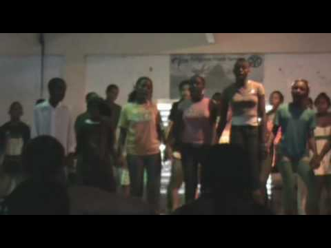RYS St Lucia  Anse-la-Raye Youth singing