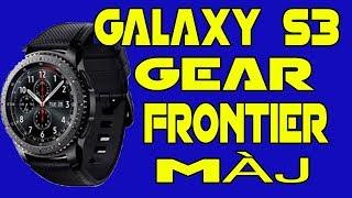 Test Samsung Galaxy Gear S3 Frontier Derniere MaJ Montre Connecte Nouveautes SVoice Et Plu ...