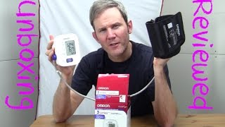 Omron 3 Series Blood Pressure Monitor BP710 Unboxing and Review