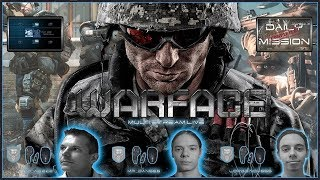 WARFACE PS4 DAILY MISSON #2 - FRAGFX SHARK PS4 GAMING MOUSE 🖱️ - Sony officially licensed