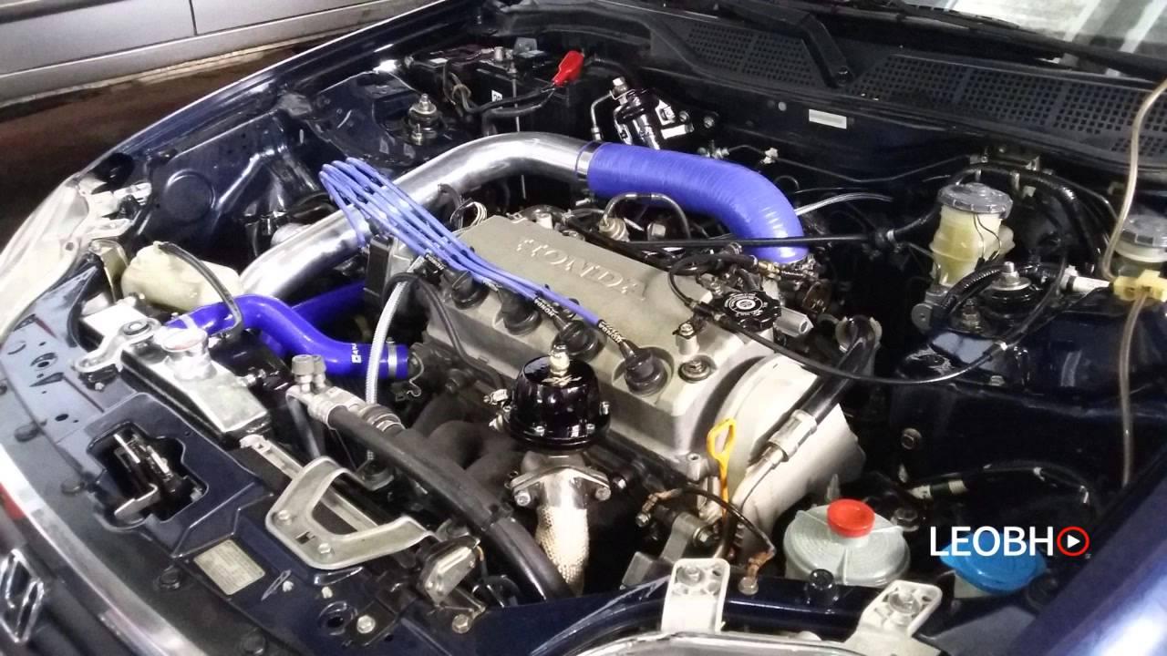 4 0 Sohc Engine Diagram Se Ventar Vai Andar Honda Civic Turbo D16 Youtube