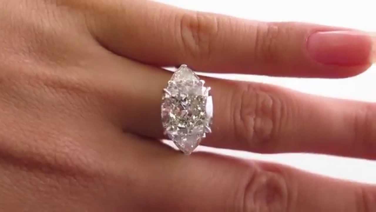Ideal 6.63ct Vintage Square Cushion Cut Diamond Engagement 2 Trillions  YS52