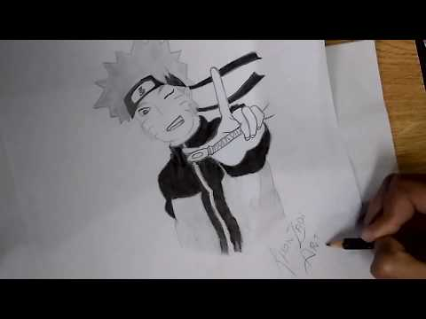 Naruto Sketch | Nikkies Tutorials
